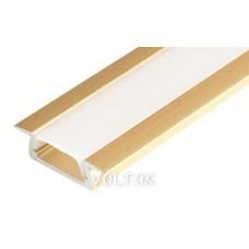 Алюминиевый Профиль MIC-F-2000 ANOD Gold Light