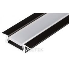 Алюминиевый Профиль MIC-F-2000 ANOD Brown Deep
