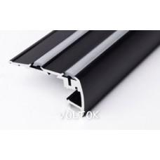 Алюминиевый Профиль STEP-2000 BLACK
