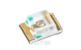 Светодиод ARL2-0805PGC-200mcd