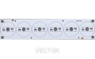 Плата 156x34-6E Emitter (6x LED, 724-133)