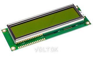Индикатор Дисплей WH1602L-YYH-CT