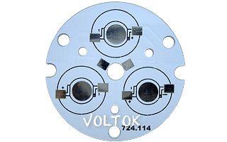 Плата D44-3E Emitter (3x LED, 724-114)