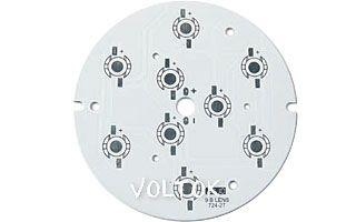 Плата D93-9E Emitter (9x LED, 724-27)