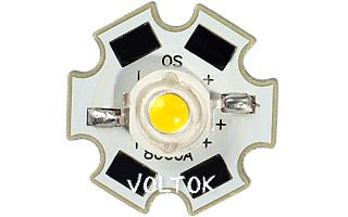 Мощный светодиод OS-Star-5W WHITE 6500K