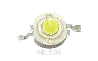 Мощный светодиод ARPL-1W White (23W1)