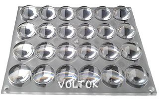 Блок линз 24B60-M112х135 (60°, 24x LED)