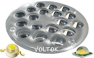 Блок линз 18B3570D (35-70°, 18X LED)