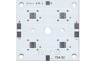 Плата 52x52-4XML CREE (4S, 724-92)