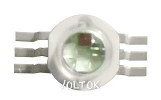 Мощный светодиод ARPL-9W RGB/6-pin (RGBF93U)