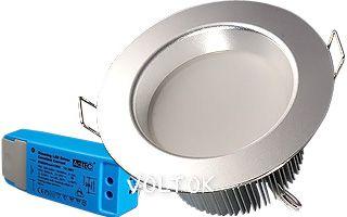 Светильник IM-90-dimm Silver 6x2W Warm White 220V