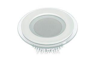 Светодиодная панель LT-R96WH 6W Warm White 120deg