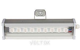 Светодиодный Прожектор SL80-300-9AR-45deg RGB (12V, 27W)
