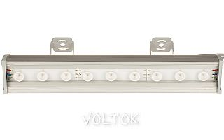 Светодиодный Прожектор SL80-500-9AR-45deg RGB-DMX (220V, 27W)