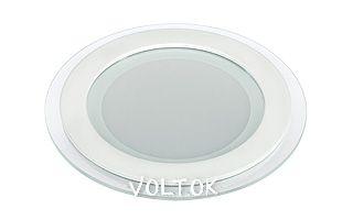 Светодиодная панель LT-R160WH 12W Warm White 120deg