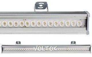 Светодиодный Прожектор SL80-1000-40NF-30deg White (220V, 48W)