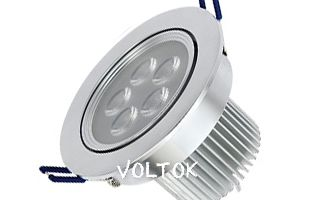 Светильник IM-110DS Warm White (5x2W, 220V)