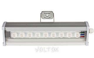 Светодиодный Прожектор SL80-300-9AR-30deg RGB (12V, 27W)