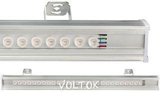 Светодиодный Прожектор SL80-1000-27AR-30deg RGB (12V, 80W)