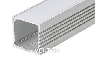 Профиль с экраном ALU-POWER-W35-2000 ANOD+FROST