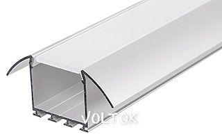 Алюминиевый Профиль PLS-LOCK-H25-FA-2000 ANOD