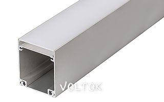Алюминиевый Профиль BOX60-ONTOP-2000 ANOD