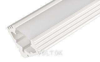 Алюминиевый Профиль PDS45-T-2000 ANOD White