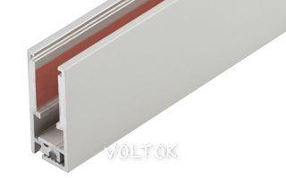 Алюминиевый Профиль KLUS-GLASS-56-2000 ANOD