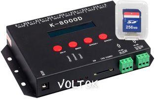 Контроллер DMX K-8000D (5V, SD-card, 8x512)