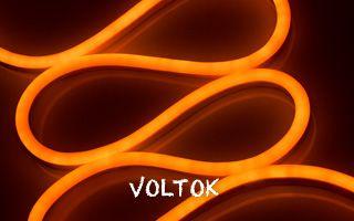 Гибкий неон ARL-NF5050-S20-220V Orange