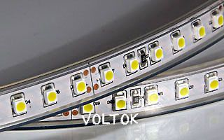 Лента RTW 2-5000P 24V Red 2x (3528, 600 LED)