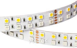Лента RT 2-5000 24V RGB-White 2x2 (5060, 720 LED)