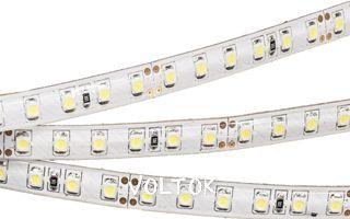 Лента RTW 2-5000SE 24V Warm 2x(3528, 600 LED, LUX)