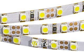 Лента RT 2-5000 12V Day White-5mm 2x (3528,600 LED