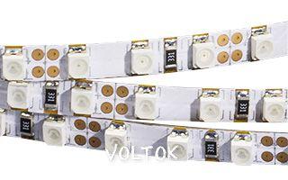 Лента RT 2-5000 12V Yellow-5mm 2x(3528,600LED,LUX)
