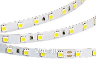 Лента RT 2-5000 36V White 2X (5060, 300 LED, LUX)
