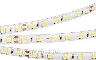 Лента RTW 2-5000SE 24V Warm 2X (5060, 300 LED,LUX)
