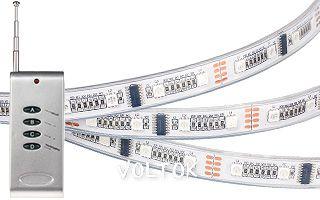 Лента с ПДУ CS-SPI-2000P 12V RGB (5060, 96 LED)