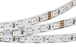 Лента RT 2-5000 24V Orange 2X (5060, 300 LED, LUX