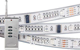 Лента с ПДУ CS-SPI-3000P 12V RGB (5060, 96 LED)