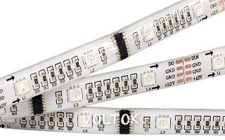 Лента CS-SPI-5000E 12V RGB (5060, 160 LED x1,1812)