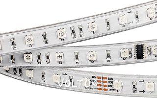 Лента CS-SPI-5000P 12V RGB (5060, 240 LED x3,1812)