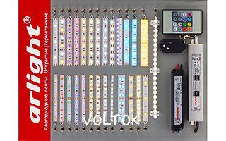 Стенд-мини 30х40 светодиодных лент 220В
