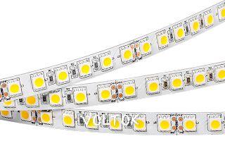 Светодиодная лента RT6-5050-96 24V White 3x (480 LED)