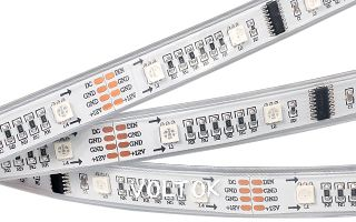 Лента CS-SPI-5000P 12V RGB (5060, 160 LED x1,1812)