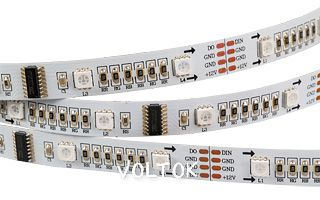Лента CS-SPI-5000 12V RGB (5060,160 LED x1,1812)