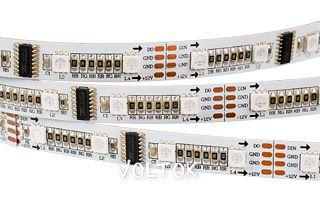 Лента CS-SPI-5000 12V RGB (5060, 240 LED x1,1812)