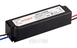 Блок питания ARPV-LV24050 (24V, 2A, 50W)