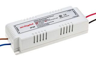 Блок питания ARPJ-DIM80350-S (28W, 350mA, PFC, Triac)
