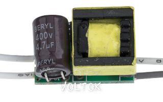 Драйвер 4x1W-02 (220V, 320mA)